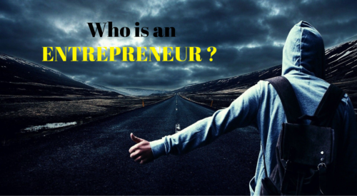 Who Is An Entrepreneur?